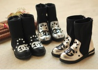 IN STOCK! Free shipping!2013 HOT ! Girls Snow Boots Thicken Winter Children Shoes For 3-8 yrs Kids,74
