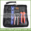 MC4 solar connector crimping tool kits, solar cable crimping tool box, made in china, used for 2.5~6mm2 solar wire.
