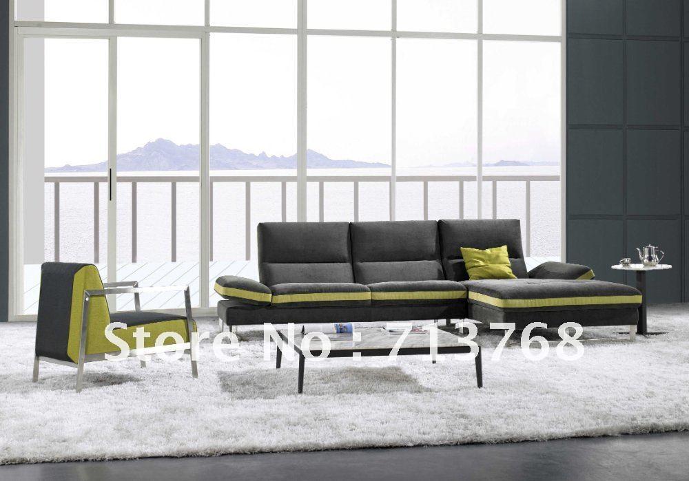 Modern furniture / living room sectional / corner leather sofa MCNO9072(China (Mainland))