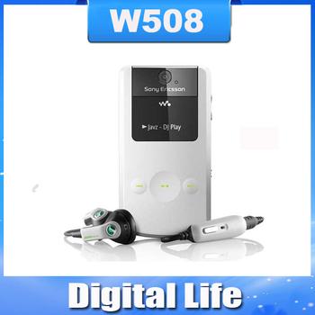 W508 Original Unlocked Sony Ericsson W508I mobile phone 3G 3.15MP Bluetooth Free Shipping