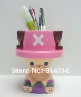 Plastic Cartoon Character Pen Holder Toy