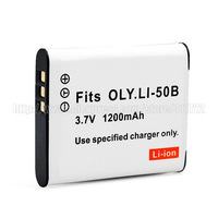 High Quality For Olympus Li-50B / Li50B / Li 50B 1400mAh Li-ion camera battery Free EMS to Japan
