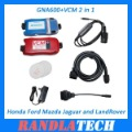 High Quality GNA600 VCM 2 in 1 for Honda & Ford & Mazda & Jaguar & LandRover Diagnose and Programming Free Shipping