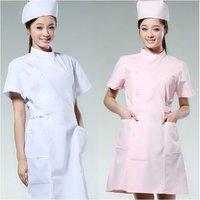 2014 new spring/summer short-sleeve beauty/medical services women's/female/nurse lab coat /work wear/uniform