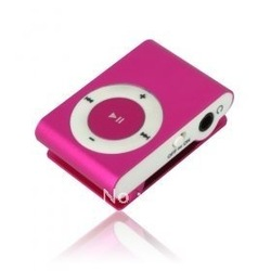 Mini iron clip mp3 music player support 128M to 8GB TF card with all accessories Free shipping hot-sale 2000pcs(China (Mainland))