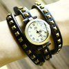 6 colors  new style bracelet watch Genuine Cow leather watch AK007