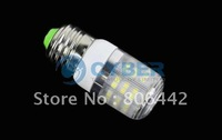 Free Shipping New E27 SMD3528 48 LED Light Bulb Lamp Warm White 200-240V 4409