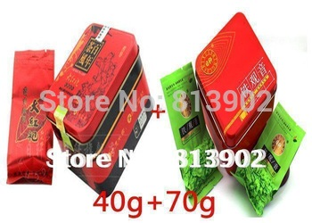 2014 spring oolong tea chinese tie guan yin kuan china  70g+Big Red Robe,Da Hong Pao ,Wu yi yan Tea 40g,Free shipping