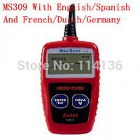 Autel MaxiScan MS309 obd2 obd eobd can bus code reader obd2 diagnostic scan tools