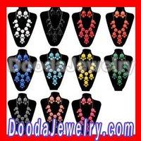 Free Shipping Fashion Jewelry Bubble Necklace Earrings Set JS0002