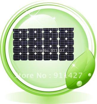4x20w Solar Panel Module Monocrystalline total 80w,Free shipping,Grade A,Brand New !Solar Panel