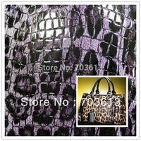 Croco Artificial leather,bag materials, semi-pu leather, 711