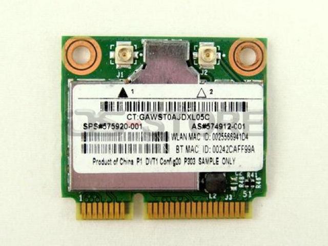 BCM94312HMG BCM4312 495827 504593 001 002 003 004 Half Mini PCI Express Wifi Wireless Card for H*(China (Mainland))