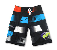 Retail 2014 children boy best gift Men's clothing beach wear fashion casual male knee-length surf short capris +free shipping