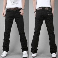 Big Sale ! ! Free shipping 2012 Hot Men's Pants/leisure trousers/casual trousers/ brand trousers Color:Black,Khaki Size:M-L-XL