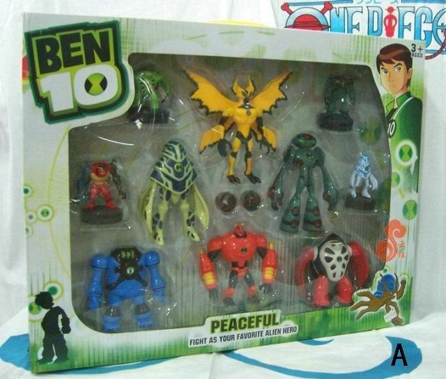 Ben Ten Omniverse Toys Ben 10 Set Ben Ten Toy