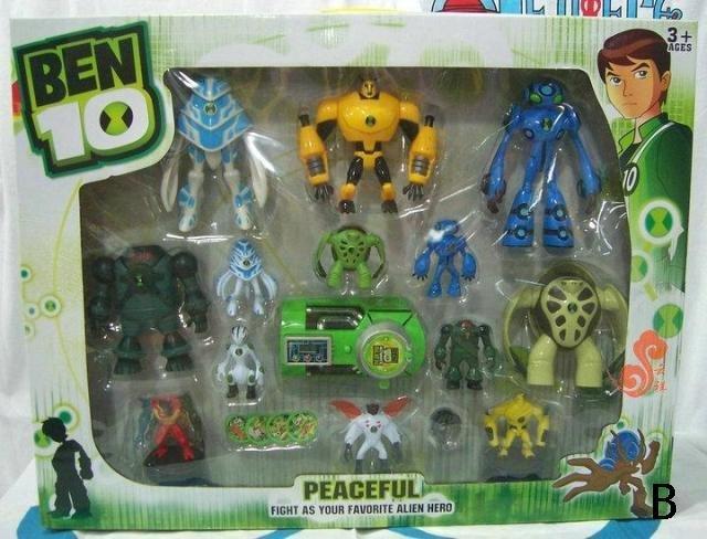 Ben Ten Omniverse Toys Ben 10 Set Ben Ten Toys