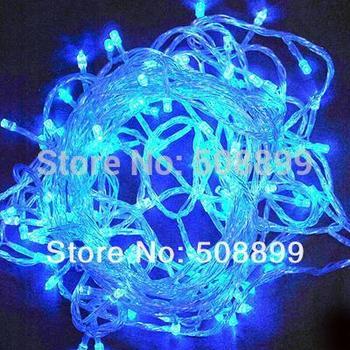 Free Shipping 10M 100 LED Decorative String Fairy Light Christmas 220V EU Plug