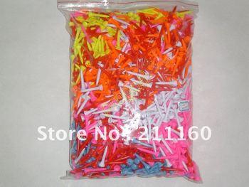 Colorful Plastic Golf Tees 1000pcs Free Shipping