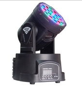 18X3W  LED Moving head light 54W RGB LED Wash light DMX Stage Lighting Fast Shipping