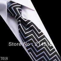 Stripe Silk NEW Woven Man Tie Necktie