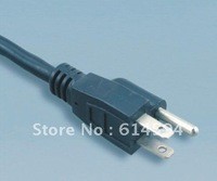 UL 3pin plug with American power cord /cable