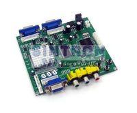 RGBS/CGA/EGA/YUV TO VGA converter 2 output arcade game