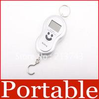 40kg x 20g Portable Pretty Smile LCD Digital Scale