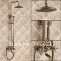 Wall Antique Brass Plating Shower Sets