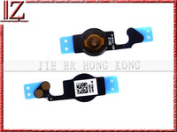 Home Button flex cable for iphone 5 New and original  MOQ 500 pic//lot QC PASS OK Transported to reach 3-7 day