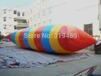 10x3m 0.9mm Inflatable  water blob +1 CE/UL air pump+Repair kit+free shipping