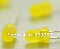 1000PCS Yellow DIP LED 585-595NM diffused led diode(round through hole led)