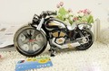 free shippingCool motorcycle model grandfather clock alarm clock fashion personality alarm clock creative home gifts