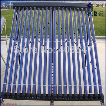 SRCC heat pipe solar collector