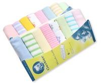 Retail Baby Small Cotton Soft Towels 8pcs/set (KF-05)