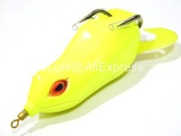 Fishing Lure Topwater Frog Hollow Body Soft Bait Fresh Water  Bass Walleye Crappie Minnow Fishing Tackle FG8F8