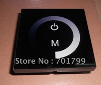 led touch panel dimmer,DC12-24V input,max 8A*1channel output;TM06