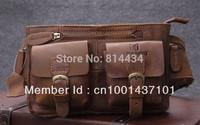 new arrival mens genuine leather vintage waist bag,elegant cowhide waist packs for men,RB8094-A,