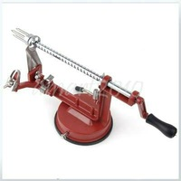Free ship, New Red Potato Apple Pear Fruit Peeler Corer Slicer Tool 3 in 1