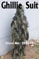 Ghillie Suit, Gilley Suit, Yowie suit, Jungle Hunting Clothes, Camouflage Wear, Sand Color, Outdoor Military, free shipping