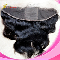"Brazilian virgin hair body wave sunnymay hair silk(4""*4"") top lace frontal(13""*4"")"