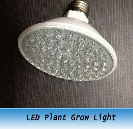 E27 3.8W 80 LED Grow Light LED Plant Grow Light 220V 6PCS(China (Mainland))