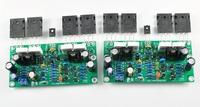 one pc mono L20SE 350W 4ohm 2SA1943 2SC5200 kit