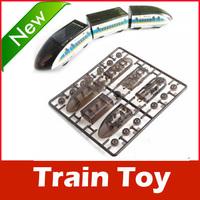 DIY Educational Solar Powered Bullet Train Toy Kit Gift