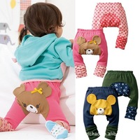 Free shipping 6pairs/lot children's wear leggings autumn baby cotton PP pants/pantyhose/ hoses of panty
