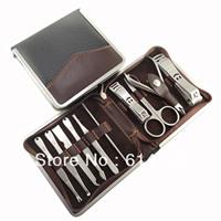 5 sets Nail clipper set belt pedicure plier top ten finger scissors finger plier b-09t