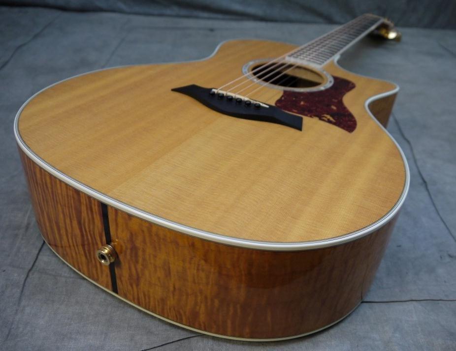 venda quente 2002 Taylor 614CE Grande Auditório acústica cortante elétrico Guitarr