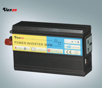 300W 24V Car Power Inverter with Output 110V or 220V AC with one pair clip cable and one cigarette cable