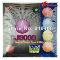 Palio CJ8000 table tennis rubber (BIOTECH) 2-Side Loop Type Pips-In, ping pong racket