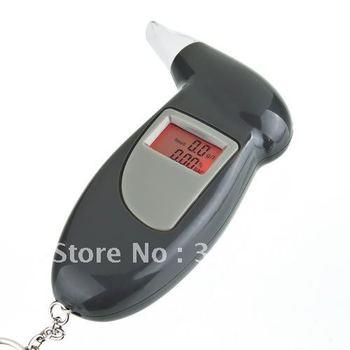 Digital Alcohol Breath Tester Analyzer Breathalyzer Detector Test Testing Pocket 5pcs/lot